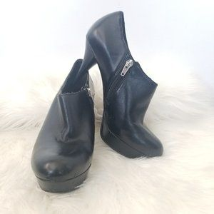 Marc Fisher | Black Alright Ankle Bootie High Heel